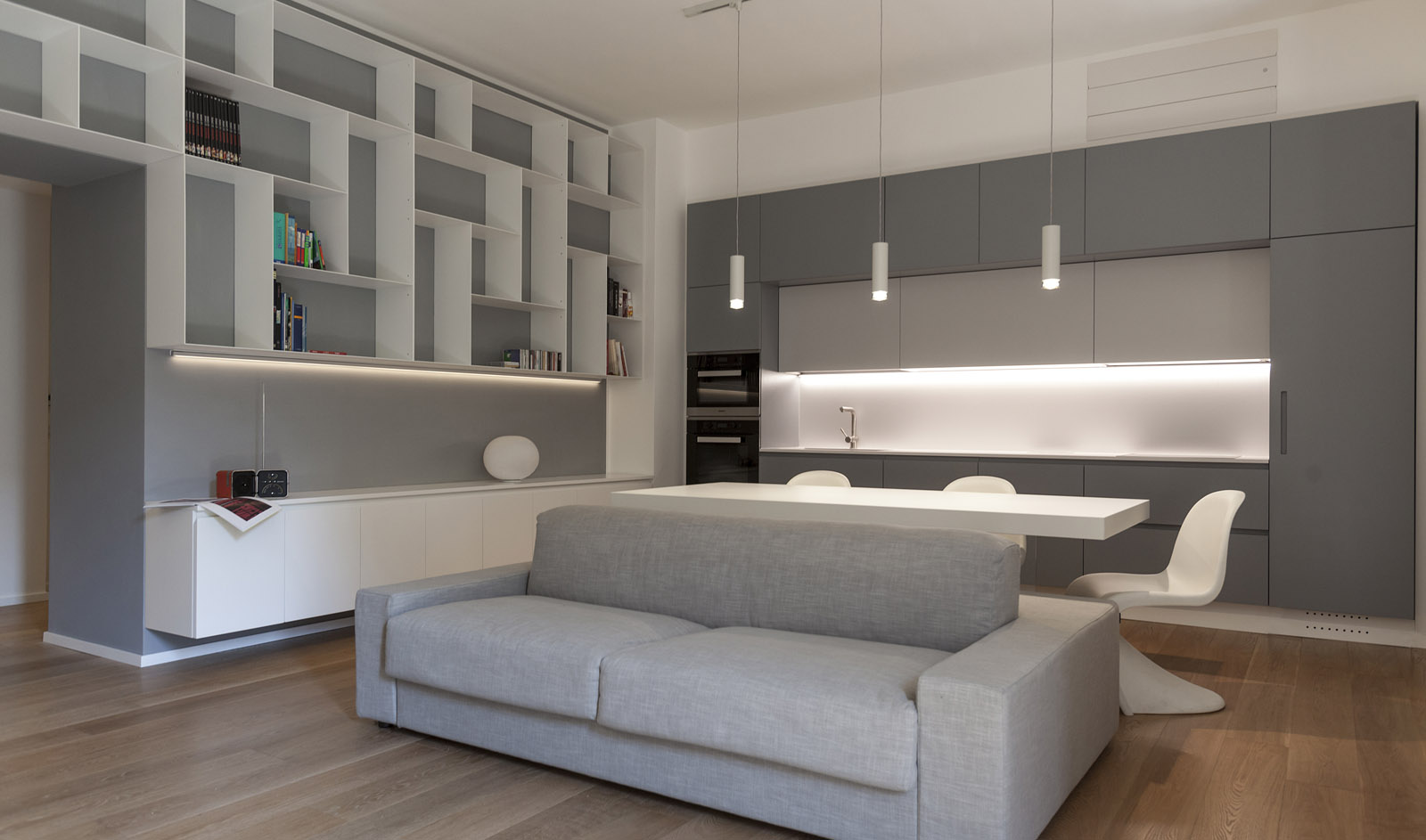 Casa di Mariella, Rome, Italy<br />Renovation and Interior Design