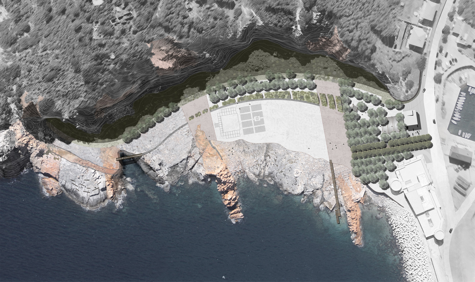 &quot;Rocce Rosse&quot; Landscape Architecture, Arbatax, Italy<br />Winner Competition & Premio Ri.U.So. 2012