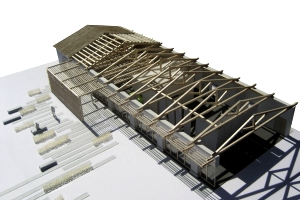 Multi-functional building for Sardinian Forest Preservation Body