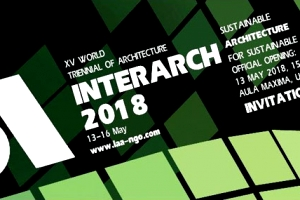 Winner INTERARCH 2018, Sofia, Bulgaria
