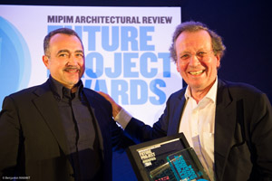 Winner AR Future Projects Award, Cannes, France
