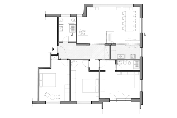post operam floor plan