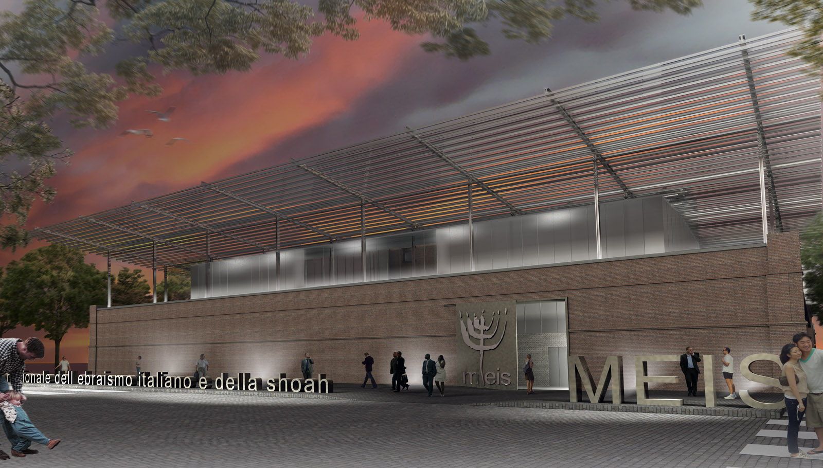 MEIS - Jewish Museum Ferrara, Italy<br />Honorable Mention - International Competition